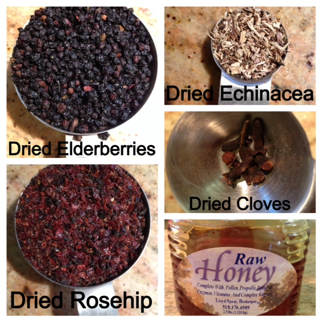 elderberry ingredients